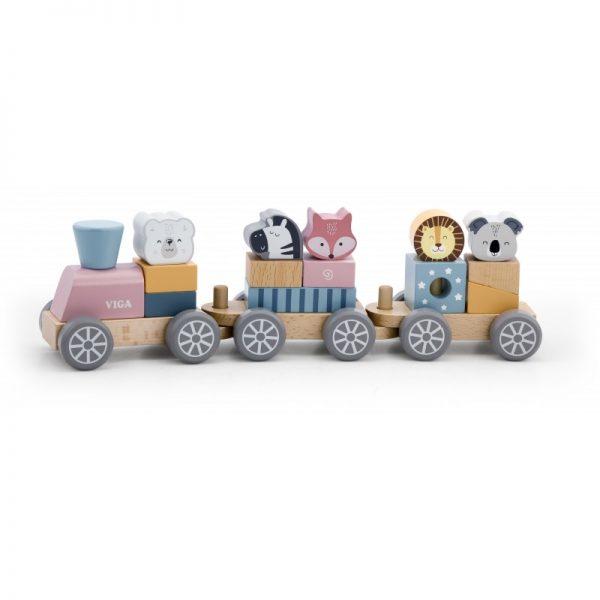 Trenulet modular cu animale, PolarB Viga