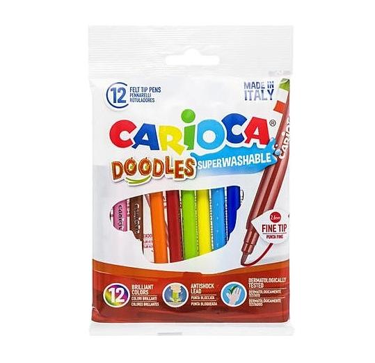 Carioca Doodles 12/set