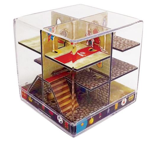 Joc Logica Cub Labirint The Castle Maze