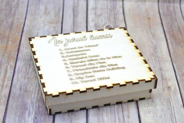 Kit din lemn - În Jurul Lumii