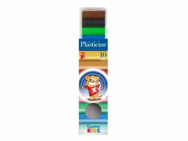 Plastilină 10 culori Creative Kids