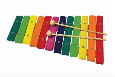 Xilofon Din Lemn Cu 12 Note