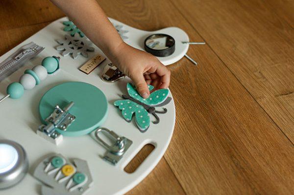 Busy board melc turcoaz Little Handy