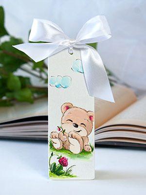 Semn de carte ursuleț