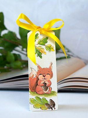 Semn de carte veveriță