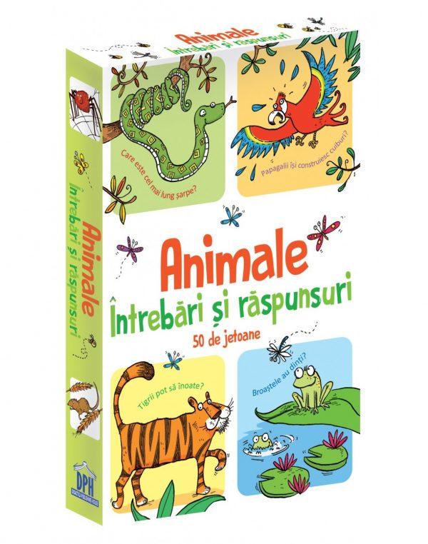 Animale - Intrebari si raspunsuri - 50 de Jetoane