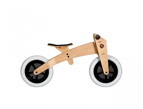 Bicicleta din lemn 3in1 Original Edition, natural, Wishbone