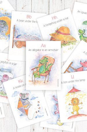 Alfabetul vesel – limba engleza