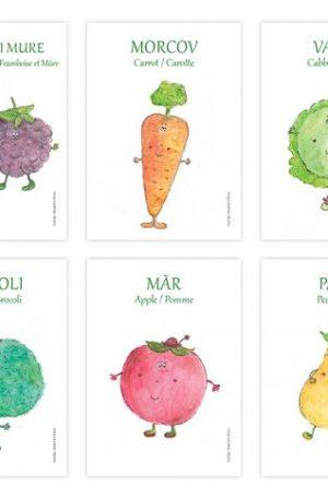 Aprozarul lui Hippo (legume si fructe)