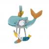 Jucarie plus bebe interactiva balena Josephine, suspendabila, 0 ani+, Moulin Roty