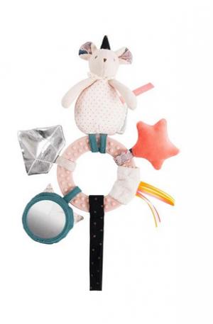 Jucarie plus bebe interactiva soricica Mimi, suspendabila, 0 ani+, Moulin Roty