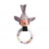 Jucarie plus bebe zornaitoare pasare cu inel, 0 ani+, Moulin Roty