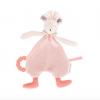 Jucarie plus dentitie Soricica Mimi roz, 0 ani+, Moulin Roty