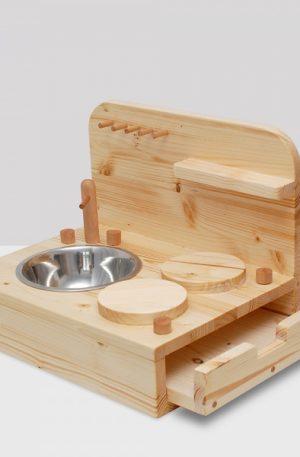 Bucatarie din lemn pentru copii