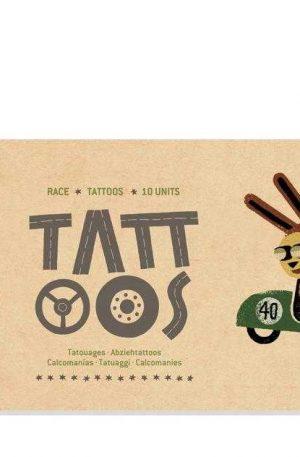 Tatuaje Londji, Cursa auto