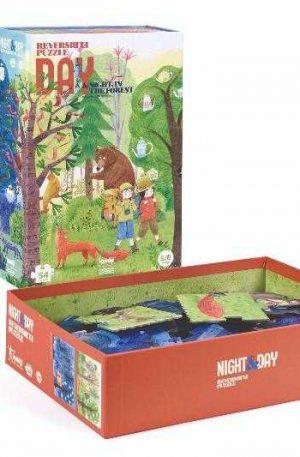 Puzzle Londji reversibil, zi si noapte