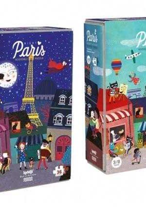 Puzzle Londji, Noapte si zi la Paris
