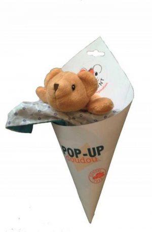 Jucarie din textil pentru bebe, elefant pop-up Egmont