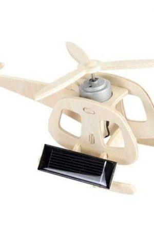 Elicopter, macheta cu panou solar