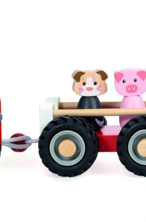 Tractor cu remorca si figurine, Egmont toys