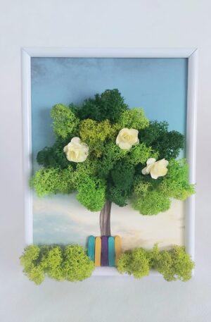 Kit copacel cu licheni