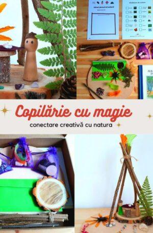 Atelier de conectare creativă cu natura – Kit 1 (cu carte)