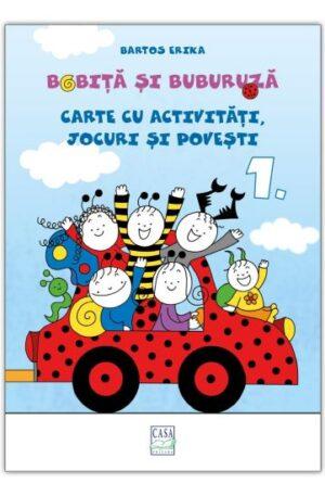 Bobita si Buburuza – Carte cu activitati, jocuri si povesti nr. 1