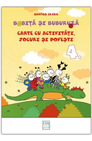 Bobita si Buburuza – Carte cu activitati, jocuri si povesti nr. 4