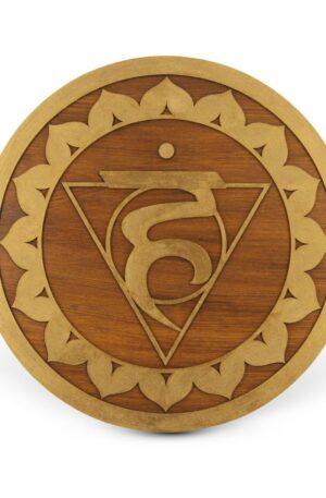 Vishuddha Chakra – Mandala lemn