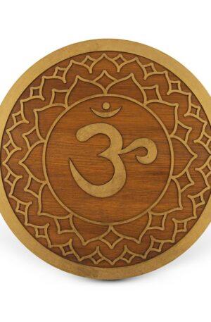 Sahasrara The Crown Chakra – Mandala lemn
