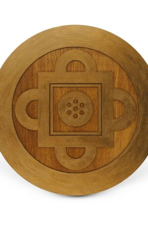 Shambala – Mandala lemn
