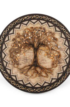 The Tree of Life – Mandala – Rotund-Pamant