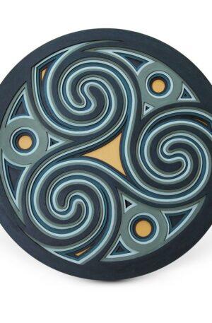 The Trinity Spiral of Life – Mandala